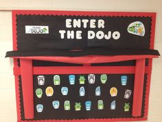 Enter the Dojo! Getting my kids excited about using Class Dojo. My students are already hooked!