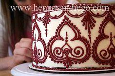 Wedding Henna Cake - 9   Flickr - Photo Sharing!