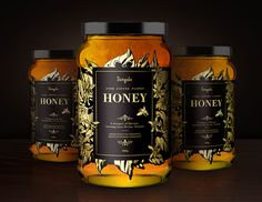 lunes 2 de febrero de 2105  https://www.behance.net/gallery/13498091/Jangala-Honey    Vietnam. Diseño de packaging para miel de café fracci...