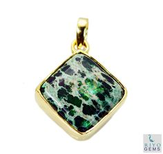 #turquoise Gold Plated #Fashion #pendant #Artificial #RiyoGems #Jewelry #Jewellery #gems #gemstone