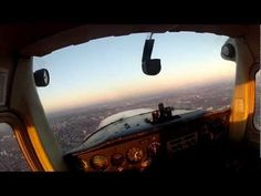 My flight of cessna 152 above Poznań in Poland. Great quality and beautiful sunset! GoPro [HD]
