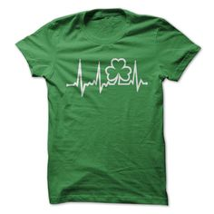 IRELAND IN MY HEARTBEAT- Irish Heartbeat ! - T-Shirt, Hoodie, Sweatshirt