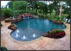 swimming+pool+with+back+yard | Swimming Pool Ideas for garden or backyard | The Best Garden Design ...