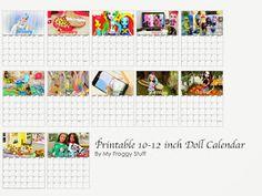 Calendar my froggy stuff