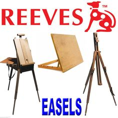Reeves Studio - Table - Sketch Box - Easel Art Artist Canvas Workstation
