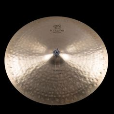 "Zildjian 22"" K Constantinope Medium Thin Low Ride Used Bronze   Reverb"