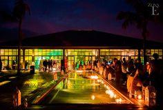 Las noches en Casa Bali son pintadas de otra manera. #ZonaE #CasaBali #Eventos #Medellin
