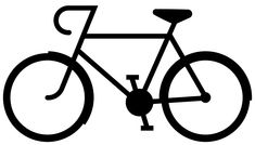 bike + freezer stencil | Über Chic for Cheap: I Could Do That: Bicycle Silhouette Tee