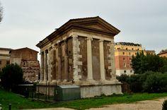 Forum Boarium | Temple of Portunus. Rome 120-80 BC.