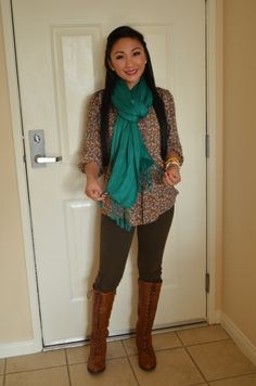 My thrift store FALL outfit. :D