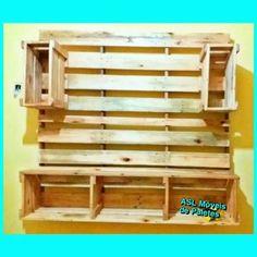 Painel de TV de paletes Pedidos 92991945468 #decoração  #paletes #sustentabilidade