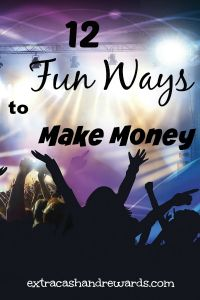 Want a FUN way to earn money at home? check out this list of 12 ideas for earning extra cash online that are far from boring!
