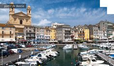 Porto de Bastia Córsega