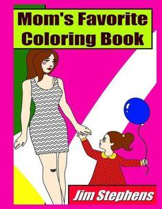 Mom's Favorite Coloring Book
