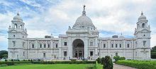 The Victoria Memorial, in Kolkata is a memorial dedicated to Queen Victoria in India.