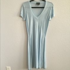 Long baby blue dress In good condition. Two fabric snags on the back of the dress but not very noticeable! Dresses