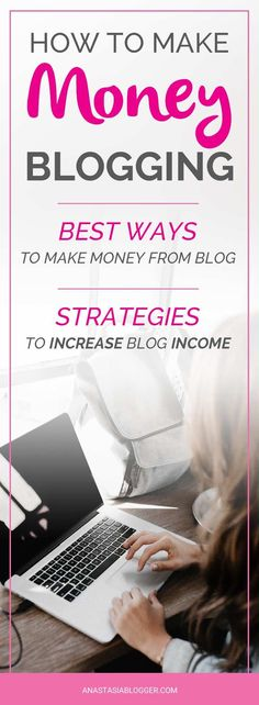 Wondering, how to make money blogging? Learn the best Ways to make money blogging for beginners. Can you make money blogging fast or it takes years? Make money with a blog tips for everyone!