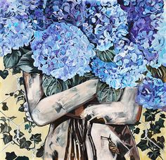 Aurelia Waves, Artwork, Painting, Modern Art Paintings, Contemporary Art, Artworks, Work Of Art, Auguste Rodin Artwork, Painting Art