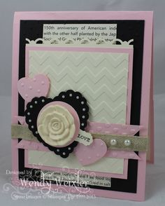 WMW Lovely by Wendybell - Cards and Paper Crafts at Splitcoaststampers