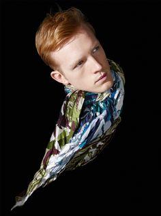Le Monde d'Hermès n°64. Crinkled silk scarves in cotton and silk. #hermes #menswear