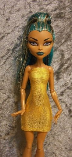 Mini dress for monster high dolls and Ever after by moonsight68, $7.00