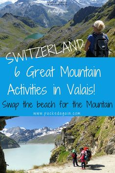 6 mountain activities in Switzerland better then the beach. Travel to Switzerland with kids. Swiss mountain activities with kids. Swiss Alps travel information and activities for the family and kids. Travel to Switzerland Valais . #nendaz #valais #switzerland #travelwithkids