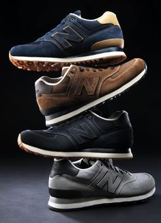 New Balance. Fancy a light weight pair in grey/brown or a mix.