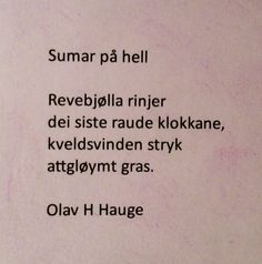 Sumar på hell - Olav H. Tattoo Quotes, Cards Against Humanity, Literary Tattoos