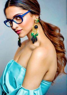 Deepika Padukone in Vogue Eyewear 2016 Photoshoot Rebel Angel