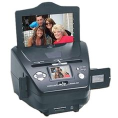 Clear the clutter! Get your photos out of boxes and digitize them with this 3-in-1 scanner. No computer needed! $179.95