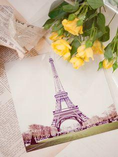 Eiffel tower art print     http://www.etsy.com/listing/96259853/eiffel-tower-art-print?ref=fp_treasury_10#