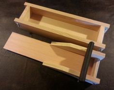 3 to 4 Lb. Wooden Soap Mold and Bar Slicer Mold by WoodSoapMolds