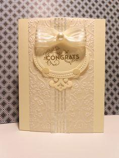 Wedding / Engagement congratulations card