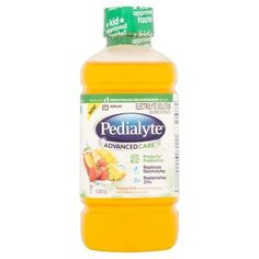 Abbott Pedialyte Advanced Care Tropical Fruit Electrolyte Solution 1.1qt