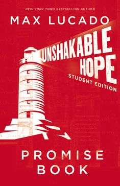 I've really enjoyed reading Max Lucado's Unshakable Hope Student Edition Promise Book . It contains 30 devotionals about promises God has . Max Lucado, Bible Promises, Gods Promises, New York Times, Graduation Quotes, Books For Teens, Scripture Verses, Thought Provoking, Live For Yourself
