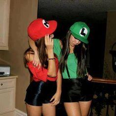 Maria and Luigi