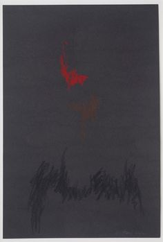 PP-539 by Clyfford Still, 1971, Pastel on paper, 18 x 12 in.