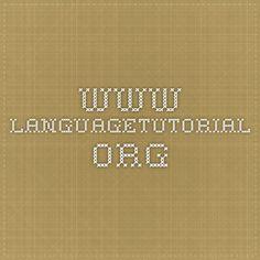 www.languagetutorial.org