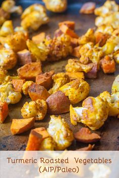 Turmeric Roasted Vegetables (AIP/Paleo)
