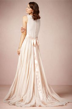 Julie Gown in Bride Wedding Dresses at BHLDN
