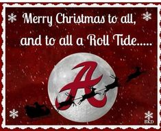 It's An Alabama Crimson Tide Christmas Alabama College Football, Alabama Baby, American Football, Crimson Tide Football, Alabama Crimson Tide, Understanding Football, Alabama Crafts, Bama Fever, Nick Saban