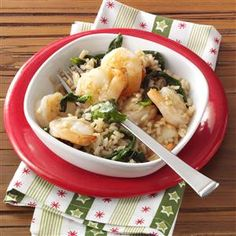 Garlic Shrimp and Rice Recipe 8 WW Smart Points  1 cup