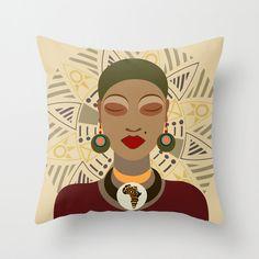 African American Art Work African Queen African Shop by iQstudio