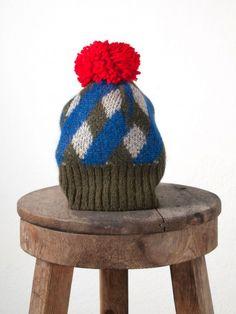 Diamonds Knit Hat Bobo Choses