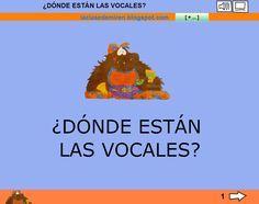 LA CLASE DE MIREN: mis experiencias en el aula: LIBRO LIM: ¿DÓNDE ESTÁN LAS VOCALES?