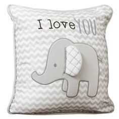 Wendy Bellissimo™ Mix & Match Elephant Chevron Throw Pillow Elephant Baby Decor, Elephant Nursery Bedding, Elephant Decorations, Elephant Themed Nursery, Elephant Room, Elephant Pillow, Nursery Room, Elephant Baby Showers, Nursery Ideas