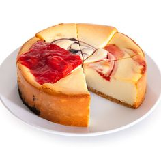 Fruit Cheesecake Sampler - 6 Inch