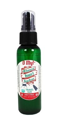 O My! Travel Size All Natural Insect Repellent