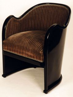 ** Josef Hoffmann Pair of armchair, 1914