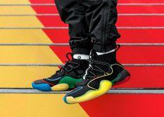 718218cde adidas x Pharrell Williams Crazy BYW LVL  Gratitude + Empathy  (Core Black    Green   Red)